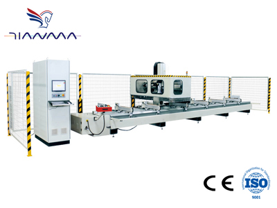 High-speed four-axis CNC machining centers