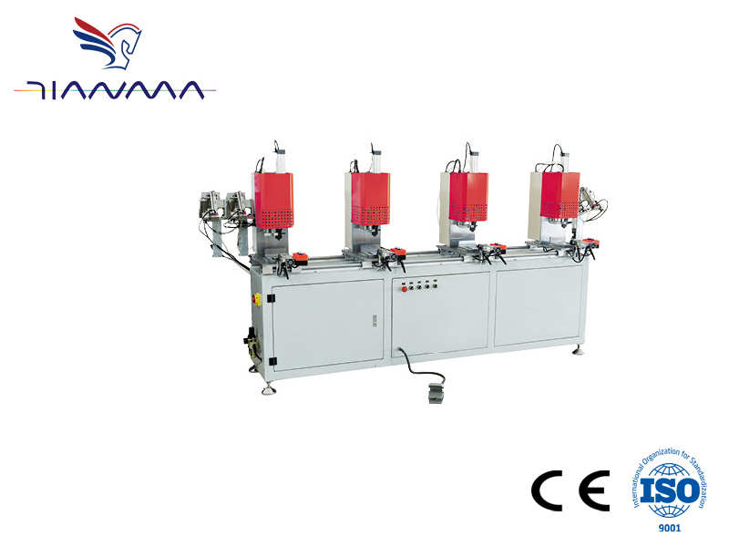 Four-head automatic screw fastening machine